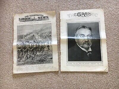 The Graphic and The Illustrated London News both from 1915
