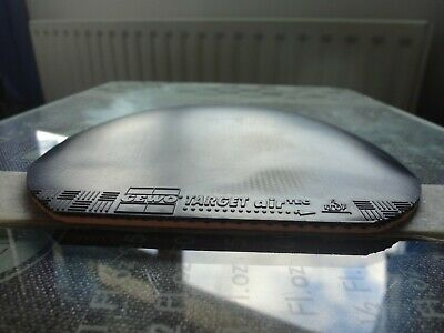 used table tennis rubber Gewo Target airTec  W157mm x H163mm Made in Germany