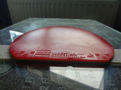 used table tennis rubber Gewo Target airTec  W156mm x H162mm Made in Germany