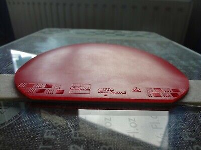 used table tennis rubber  GEWO MEGA FLEX CONTROL   W155mm x H159mm
