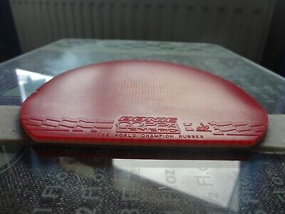 used table tennis rubber DONIC Coppa Tenero  W152mm x H158mm