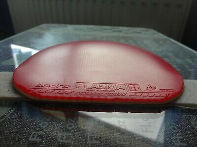used table tennis rubber ANDRO Plasma 430  W148mm x H155mm