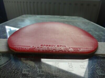 used table tennis rubber Tibhar Speedy Spin  W149mm x H154mm