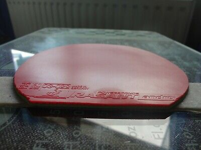 used table tennis rubber ANDRO Rasant Powersponge  W151mm x H153mm
