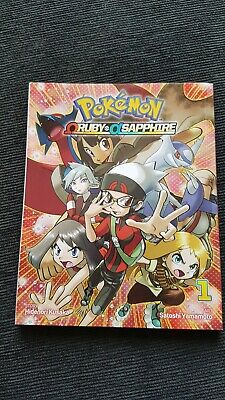 Pokemon Ruby Sapphire adventures special edition 1 story book