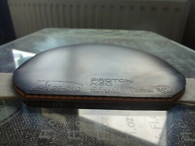 used table tennis rubber Gewo PROTON NEO 375   W150mm x H152mm Made in Germany