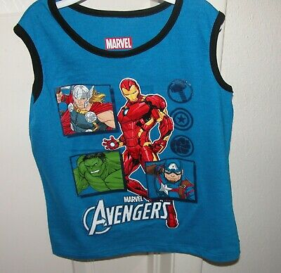 Marvel Tank Top New with Marvel Avengers Design/Size: 2 Toddler