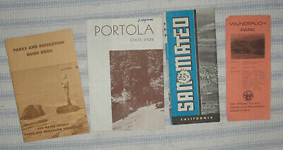 Lot of Travel Maps or Brochures - San Mateo County, California [#22]