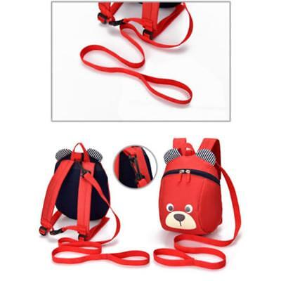 Cartoon Baby Toddler Kids Dinosaur Harness Strap Backpack with Leash YU