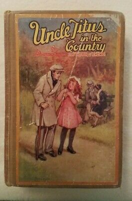 Vintage Book Uncle Titus in The Country by Johanna Spyri -Heidi Author