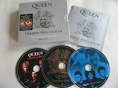 Queen greatest Hits I II III CDs - The Platinum Collection 1, 2, 3.