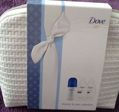 Dove Beauty & Care Collection Make-Up Bag Gift Set New
