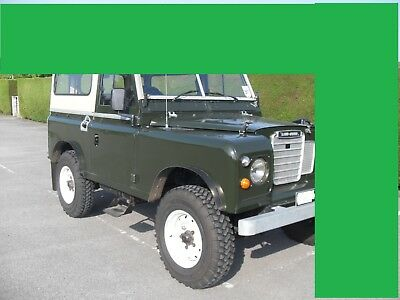 Land Rover Series Wheel Arch Extensions Hybrid Lightweight Coil Spring Axles