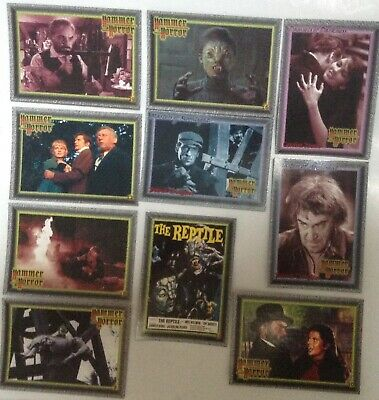Hammer Horror Series 2 Foil Stamped Chase Card F1