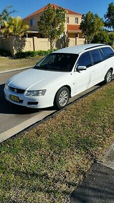2006 Commodore VZ Wagon, Auto, White, Registered, Central Coast NSW Pick Up !