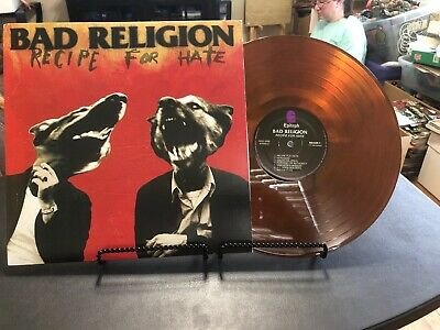 BAD RELIGION Recipe For Hate Brown Translucent Limited Edition Lp Record