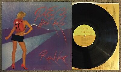 Roger Waters The Pros And Cons Of Hitch Hiking LP 1984 CBS OG Inner Pink Floyd!!