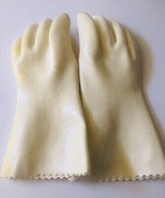 Ronco Showtime Rotisserie Heat Proof Protective Gloves Replacement Part- Clean!