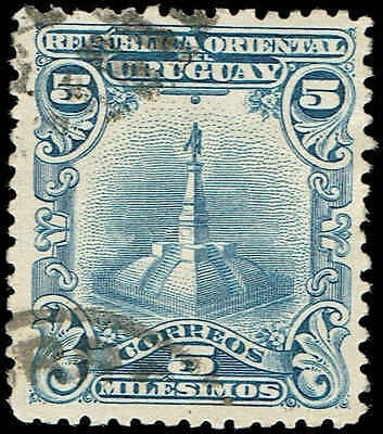 Scott # 150 - 1899 - ' Statue of Artigas '