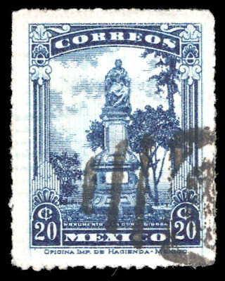 Scott # 640 - 1923 - ' Monument to Josefa Ortiz de Dominguez '