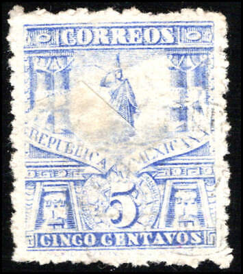Scott # 247 - 1895 - ' Statue of Cuauhtemoc '