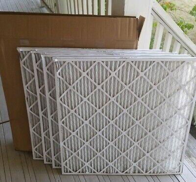 """Furnace/AC filter 30""""X30"""" NaturalAire Standard Pleated Air Filter 4 PACK"""