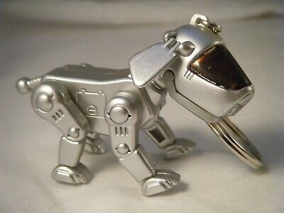 Vintage Robot Dog Key Chain