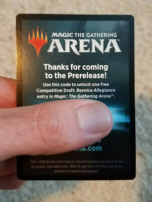 Magic the Gathering Arena Prerelease Code - One Traditional Draft Entry