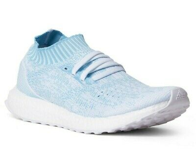 purchase cheap 954c6 43cfa ADIDAS ULTRABOOST UNCAGED Parley Icey Blue/White CP9686 Mens Shoes Size 12.5
