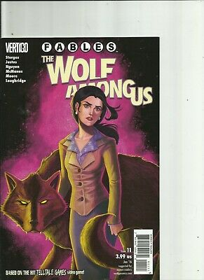 Fables The Wolf Among Us #11-#16 Vertigo Comics