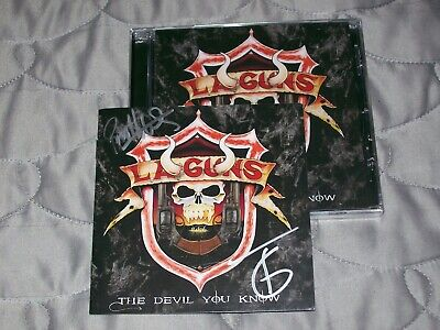 L.A. Guns - The Devil You Know(CD + LTD. Auto. booklet)guns n' roses/slash/NEW!!