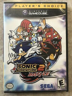 Sonic Adventure 2 Battle ( Nintendo Gamecube  ), Complete w/Case & Manual
