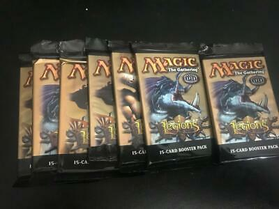 Legions Booster Pack Lot of 7 Sealed Packs Magic the Gathering MTG