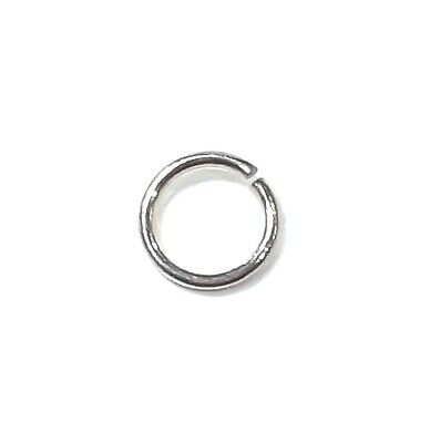 300PCS Sterling Silver OPEN Jump Ring Gage 22(0.64mm)
