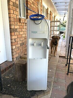 Refrigerated Water Dispenser Free Standing. Comes With Two Stage Water Filter.