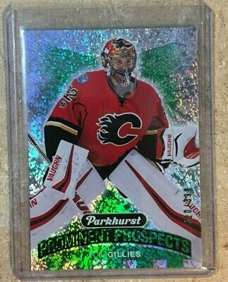 2017-18 UD Parkhurst Green Prominent Prospects Jon Gillies #320/399 Set#PP-12