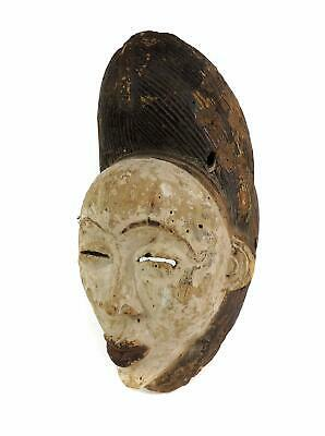 Punu Maiden Spirit Mask Mukudji White Gabon African Art SALE WAS $250.00
