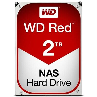"Western Digital WD Red WD20EFAX 2TB 3.5"" SATA3.0 6.0Gb/s NAS Hard Drive Internal"
