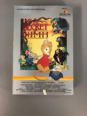 """The Secret of Nimh"" 1982 BETA Tape Farmer Fitzgibbon Brisby Nicodemus Jacobi"