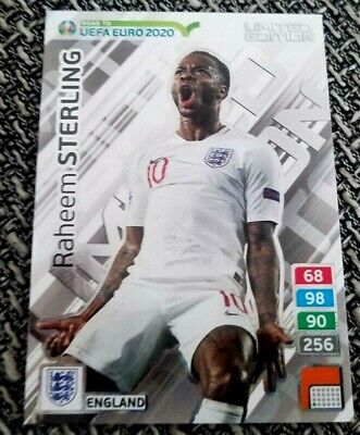 ROAD TO UEFA EURO 2020' Limited Edition * Raheem Sterling * England