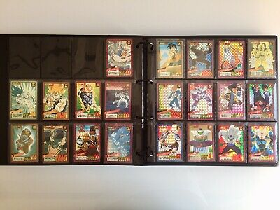 Dragon Ball Carddass Super Battle Power Level Complete Collection 100% Full Set!