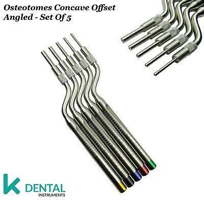 Kit De Cirugía De Implantes Dentales Sinus Lift Osteotome Cóncavo angulados CE