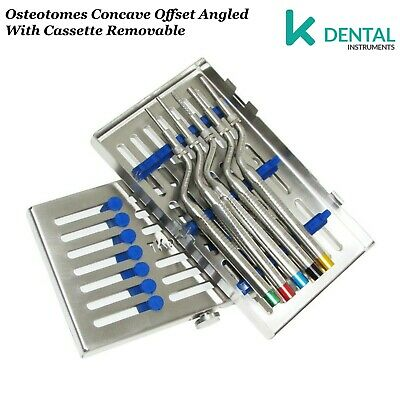 Advanced Implant Surgery Osteotomes Dental Sinus Lift + Caja esterilización CE