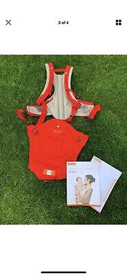 Stokke MyCarrier 3 in 1 front and back baby carrier, Colour Red