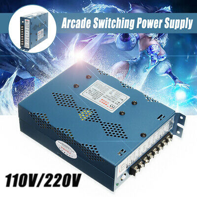16A Arcade Switching Power Supply 110 / 220V, Jamma Multicade 8 Liner and