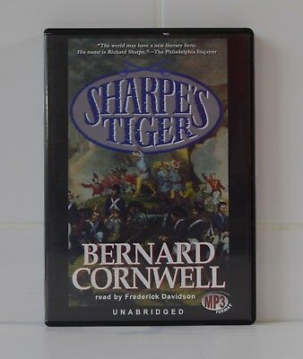Sharpe's Tiger - by Bernard Cornwell - MP3CD - Audiobook