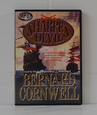 Sharpe's Devil - by Bernard Cornwell - MP3CD - Audiobook