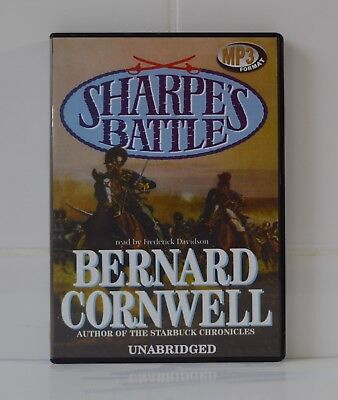 Sharpe's Battle - by Bernard Cornwell - MP3CD - Audiobook