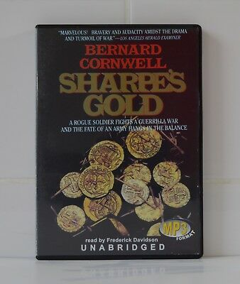 Sharpe's Gold - by Bernard Cornwell - MP3CD - Audiobook