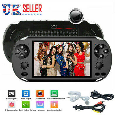 Portable X9Handheld Video Game Console 128 Bit Built In 1000+Game Kids Player UK